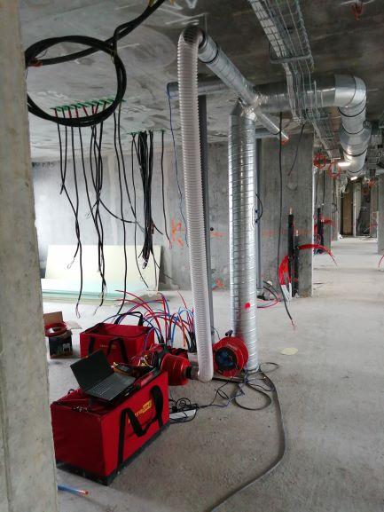 Perméabilité des réseaux de ventilation